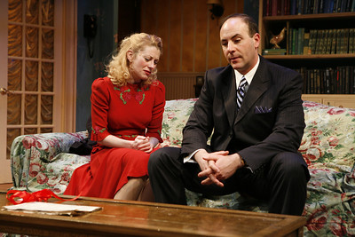 Angela Pierce and Jordan Lage in SOLDIER'S WIFE by Rose Franken  Photo: Richard Termine
