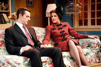 Michael Polak and Kate Levy in SOLDIER'S WIFE by Rose Franken  Photo: Richard Termine