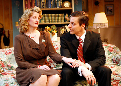 Judith Hawking and Michael Polak in SOLDIER'S WIFE by Rose Franken  Photo: Richard Termine