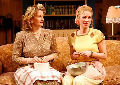 Judith Hawking and Angela Pierce in SOLDIER'S WIFE by Rose Franken  Photo: Richard Termine