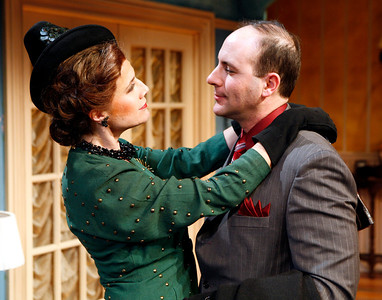 Kate Levy and Jordan Lage in SOLDIER'S WIFE by Rose Franken  Photo: Richard Termine