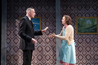 Aidan Redmond & Ellen Adair in STRANGE BIRTH by Teresa Deevy. Directed by Jonathan Bank. Photo: Richard Termine.