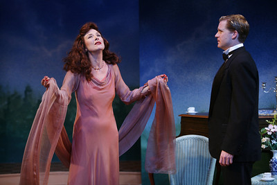 Leslie Hendrix and Alex Cranmer in SUSAN AND GOD by Rachel Crothers  Photo: Richard Termine