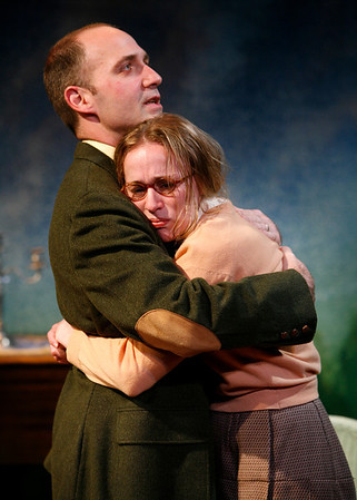 Timothy Deenihan and Jennifer Blood in SUSAN AND GOD by Rachel Crothers  Photo: Richard Termine