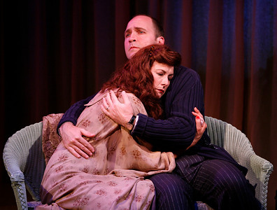 Leslie Hendrix and Timothy Deenihan in SUSAN AND GOD by Rachel Crothers  Photo: Richard Termine