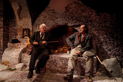 Paul Carlin and Con Horgan in TEMPORAL POWERS by Teresa Deevy Photo: Richard Termine