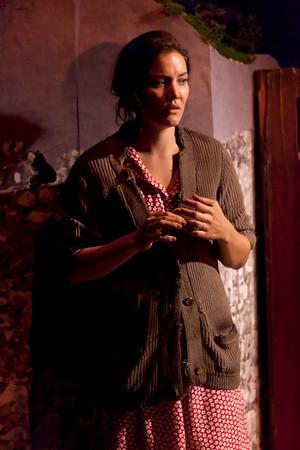 Rosie Benton in TEMPORAL POWERS by Teresa Deevy Photo: Richard Termine