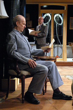 Lee Moore and Benjamin Howes in THE CHARITY THAT BEGAN AT HOME by St. John Hankin  Photo: Richard Termine