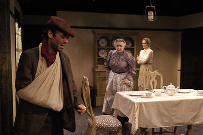 Peter Russo, Mikel Sarah Lambert and Angela Reed in THE DAUGHTER-IN-LAW by D.H. Lawrence  Photo: Richard Termine