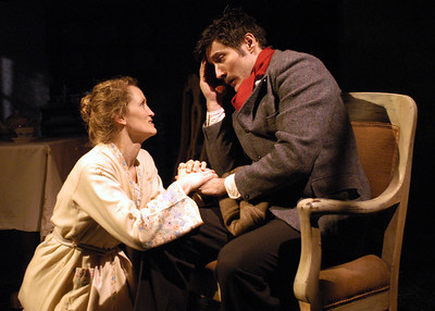 Angela Reed and Gareth Saxe in THE DAUGHTER-IN-LAW by D.H. Lawrence  Photo: Richard Termine