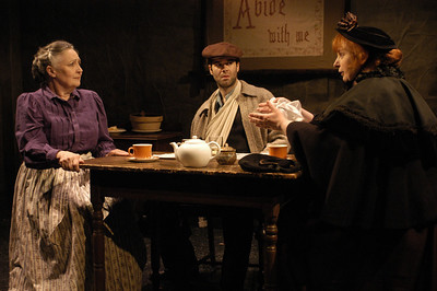 Mikel Sarah Lambert, Peter Russo and Jodie Lynn McClintock in THE DAUGHTER-IN-LAW by D.H. Lawrence  Photo: Richard Termine