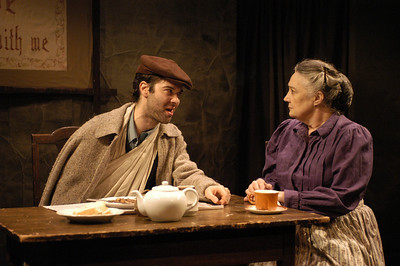 Peter Russo and Mikel Sarah Lambert in THE DAUGHTER-IN-LAW by D.H. Lawrence  Photo: Richard Termine