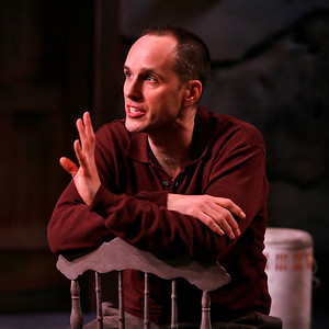 Kelly AuCoin in THE FIFTH COLUMN by Ernest Hemingway   Photo: Richard Termine
