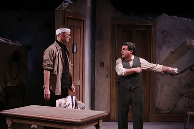 Joe Hickey and Carlos Lopez in THE FIFTH COLUMN by Ernest Hemingway   Photo: Richard Termine