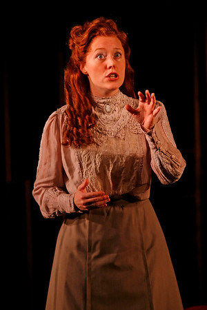 Sandra Struthers-Clerc in THE GLASS CAGE by J.B. Priestley  Photo: Richard Termine