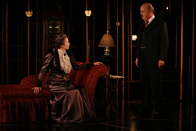 Robin Moseley and Gerry Bamman in THE GLASS CAGE by J.B. Priestley  Photo: Richard Termine