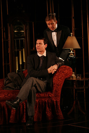 Aaron Krohn and Jack Wetherall in THE GLASS CAGE by J.B. Priestley  Photo: Richard Termine