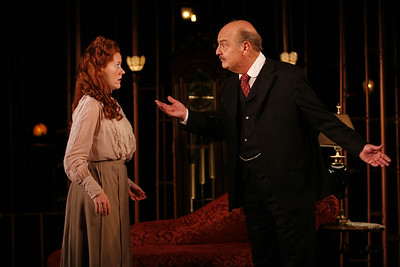 Sandra Struthers-Clerc and Gerry Bamman in THE GLASS CAGE by J.B. Priestley  Photo: Richard Termine
