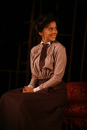 Jeanine Serralles in THE GLASS CAGE by J.B. Priestley  Photo: Richard Termine