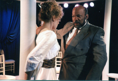 Lisa Bostnar and Mike Hodge in THE HOUSE OF MIRTH by Edith Wharton and Clyde Fitch