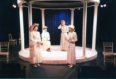 Kathleen Turco-Lyon, Jennifer Chudy, Lisa Bostnar and Sundy Leigh Leake in THE HOUSE OF MIRTH by Edith Wharton and Clyde Fitch