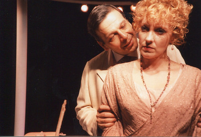 Gus Kaikkonen and Lisa Bostnar in THE HOUSE OF MIRTH by Edith Wharton and Clyde Fitch