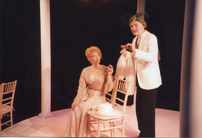 Lisa Bostnar and Larry Swansen in THE HOUSE OF MIRTH by Edith Wharton and Clyde Fitch