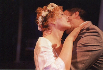 Lisa Bostnar and Gus Kaikkonen in THE HOUSE OF MIRTH by Edith Wharton and Clyde Fitch