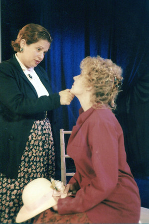 Claudia Traub and Lisa Bostnar in THE HOUSE OF MIRTH by Edith Wharton and Clyde Fitch