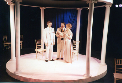 Michael Stebbins, Gus Kaikkonen and Lisa Bostnar in THE HOUSE OF MIRTH by Edith Wharton and Clyde Fitch