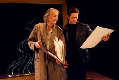 Ronald Guttman and Eric Alperin in THE LONELY WAY by Arthur Schnitzler  Photo: Rahav Segev/Photopass.com