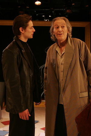 Eric Alperin and Ronald Guttman in THE LONELY WAY by Arthur Schnitzler  Photo: Rahav Segev/Photopass.com