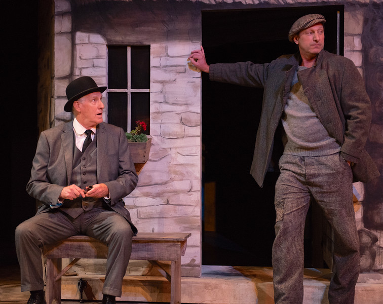 THE MOUNTAINS LOOK DIFFERENT By Micheál mac Liammóir <br /> Paul O'Brien and Con Horgan<br /> Photo by Todd Cerveris
