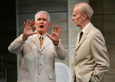 Richard Kline and Lee Moore in THE RETURN OF THE PRODIGAL by St. John Hankin  Photo: Richard Termine