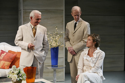 Richard Kline, Lee Moore and Kate Levy in THE RETURN OF THE PRODIGAL by St. John Hankin  Photo: Richard Termine
