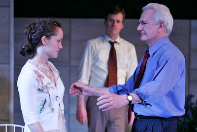 Leah Curney, Bradford Cover and Richard Kline in THE RETURN OF THE PRODIGAL by St. John Hankin  Photo: Richard Termine