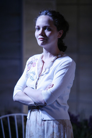 Leah Curney in THE RETURN OF THE PRODIGAL by St. John Hankin  Photo: Richard Termine