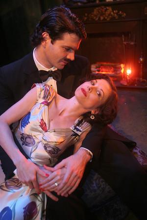 Leo Kittay and Diana LaMar in THE SKIN GAME by John Galsworthy  Photo: Rahav Segev/Photopass.com