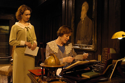 Victoria Mack and Kristin Griffith in THE TRUTH ABOUT BLAYDS by A.A. Milne  Photo: Richard Termine
