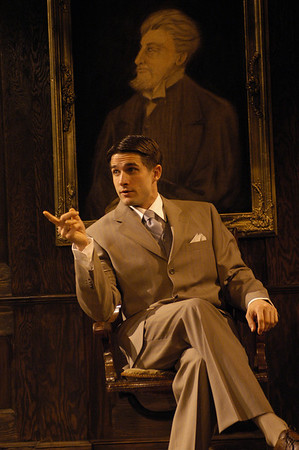 James Knight in THE TRUTH ABOUT BLAYDS by A.A. Milne  Photo: Richard Termine