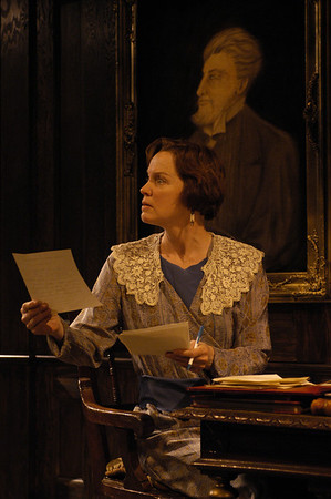 Kristin Griffith in THE TRUTH ABOUT BLAYDS by A.A. Milne  Photo: Richard Termine