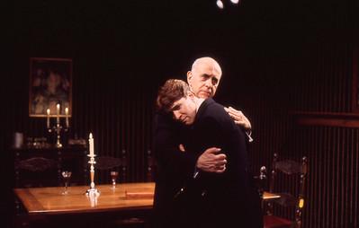 George Morfogen and Kraig Swartz in THE VOYSEY INHERITANCE by Harley Granville-Barker  Photo: Michael Gottlieb
