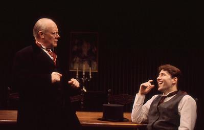 Chet Carlin and Kraig Swartz in THE VOYSEY INHERITANCE by Harley Granville-Barker  Photo: Michael Gottlieb