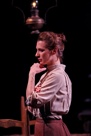 Julia Coffey in THE WIDOWING OF MRS. HOLROYD by D.H. Lawrence  Photo: Richard Termine