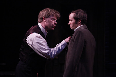 Eric Martin Brown and Nick Cordileone in THE WIDOWING OF MRS. HOLROYD by D.H. Lawrence  Photo: Richard Termine
