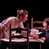 Julia Coffey and Dalton Harrod in THE WIDOWING OF MRS. HOLROYD by D.H. Lawrence <br /> Photo: Richard Termine