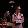 Nick Cordileone and Julia Coffey in THE WIDOWING OF MRS. HOLROYD by D.H. Lawrence <br /> Photo: Richard Termine