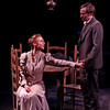 Julia Coffey and Nick Cordileone in THE WIDOWING OF MRS. HOLROYD by D.H. Lawrence <br /> Photo: Richard Termine
