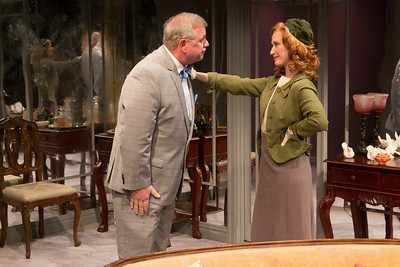 Cliff Bemis and Victoria Mack in THE FATAL WEAKNESS by George Kelly. Photo: Richard Termine