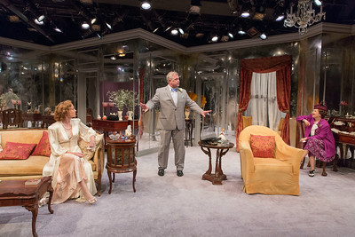 Kristin Griffith, Cliff Bemis, and Cynthia Darlow in THE FATAL WEAKNESS by George Kelly. Photo: Richard Termine